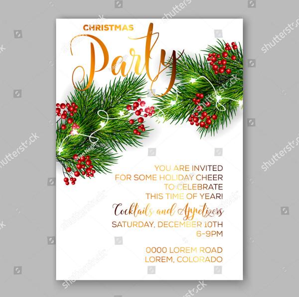christmas invitation templates
