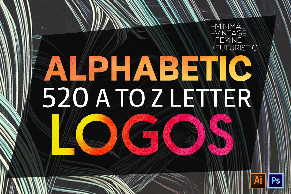 Big A to Z Logos Bundle