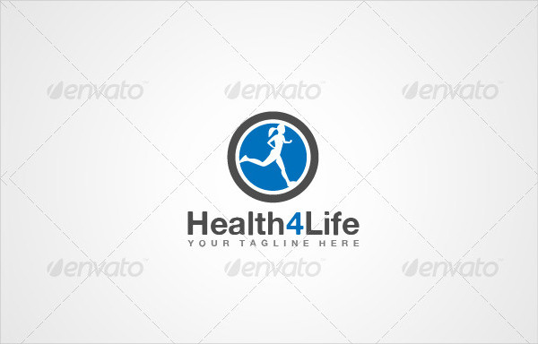 Fitness for Life Logo Template
