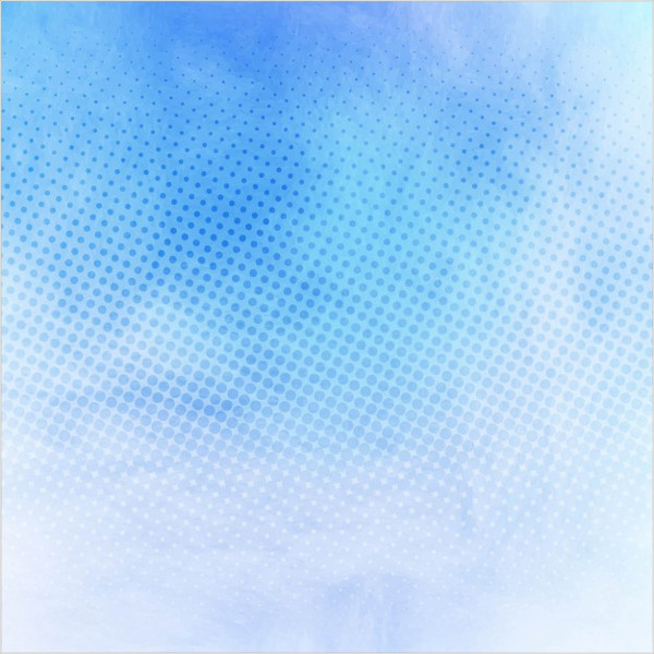 Blue Watercolor Texture with Dots Free