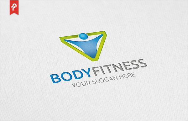 Body Fitness Logo Template