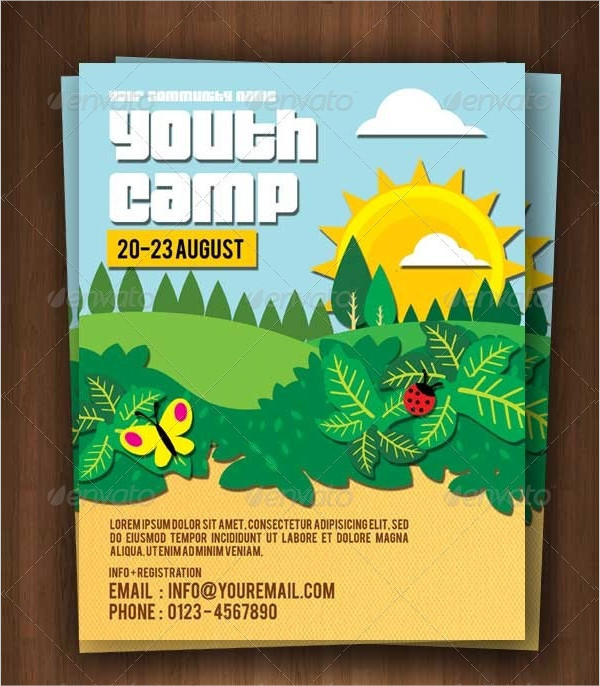 Attractive Youth Flyer Template