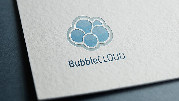 Bubble Logo Template