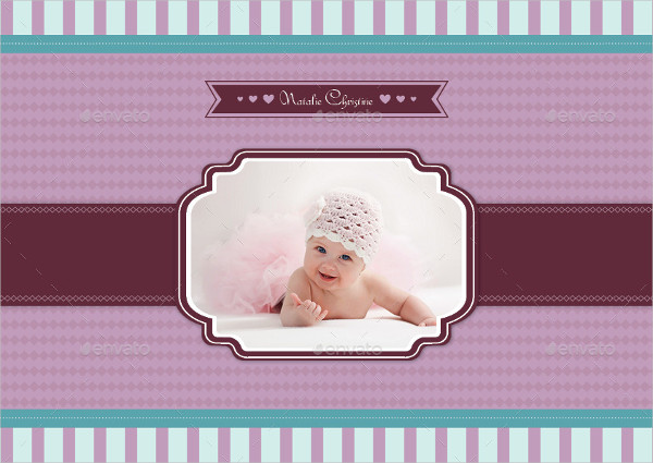 Colorful Baby Photo Album Template