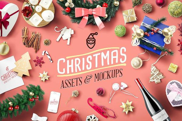 Christmas Assets & Mock-Ups