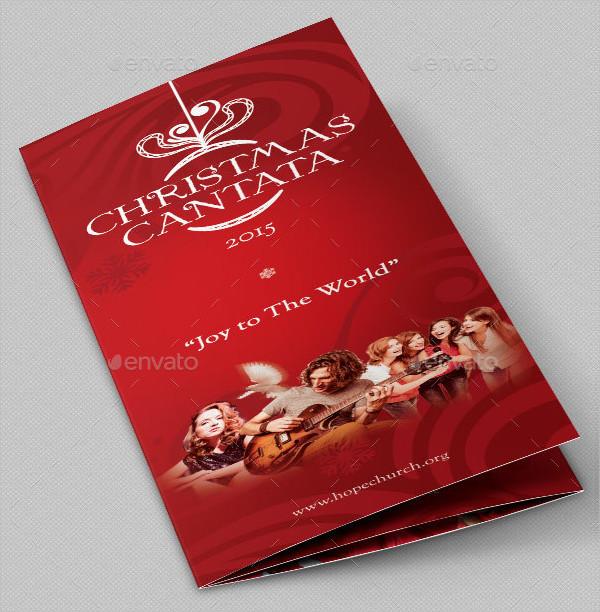 Xmas Cantata Brochure PSD