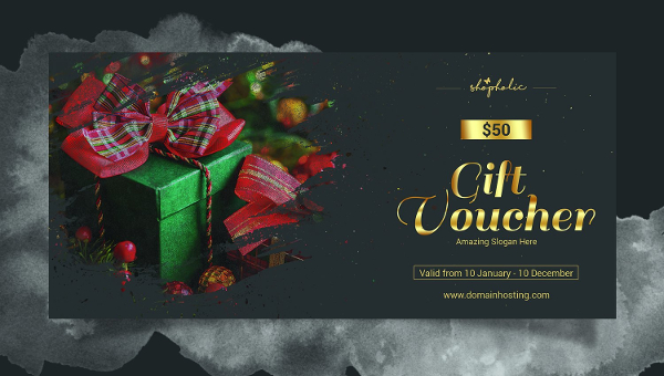 christmas gift voucher templates are just the right pick for communicating your cool christmas gift idea christmas season is a special time when most of
