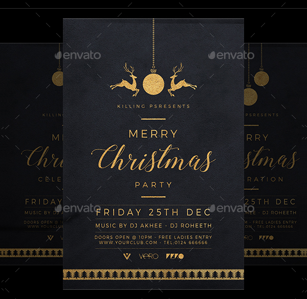 Attractive Christmas Flyer Template