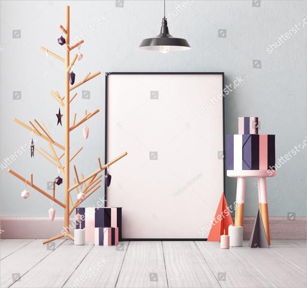 Christmas Poster Mockup