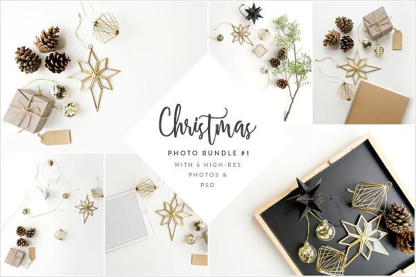 Christmas Styled Photo & Mockup