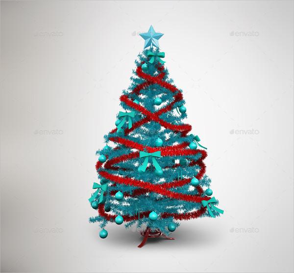 Christmas Tree Mockup