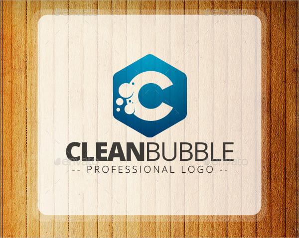 Clean Bubble Logo Template