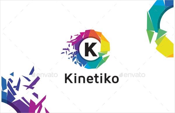 K Alphabet Logo Design