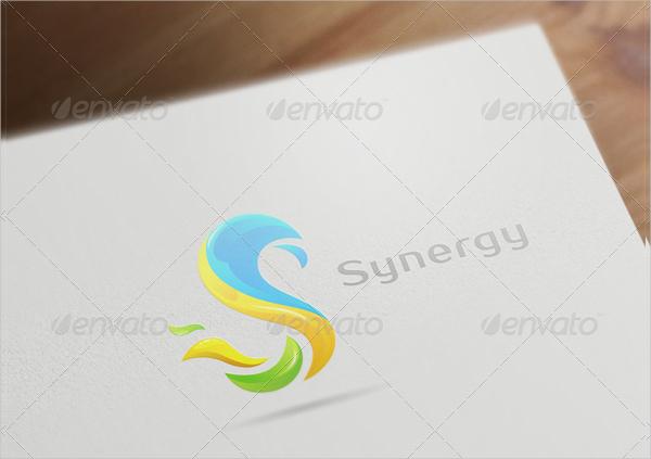 Colorful S Letter Logo Design