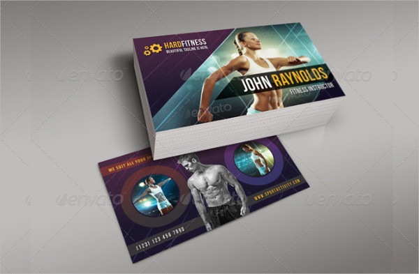 3 in 1 Sport Activity Business Cards Bundle