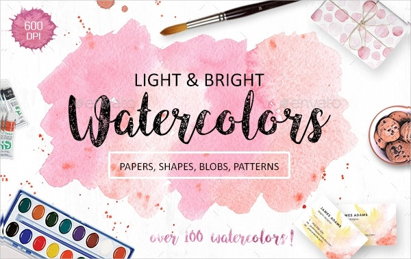 Creative Watercolor Texture Pack