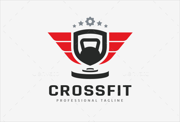 Crossfit Gym Fitness Logo