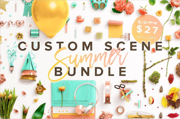Custom Scene Summer Bundle