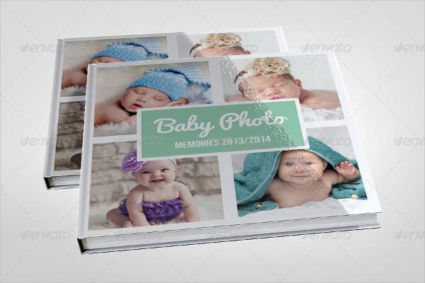 Cute Baby Photo Album Template