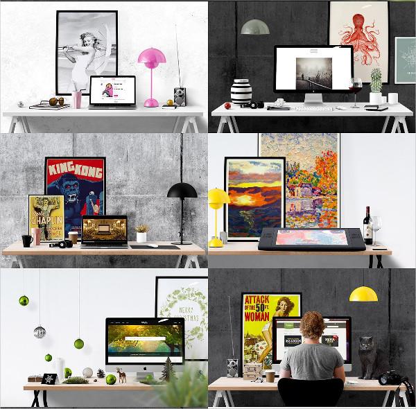 Desk Edition Scene Creator Mockup