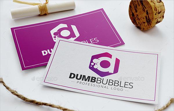 Dumb Bubbles Logo Template