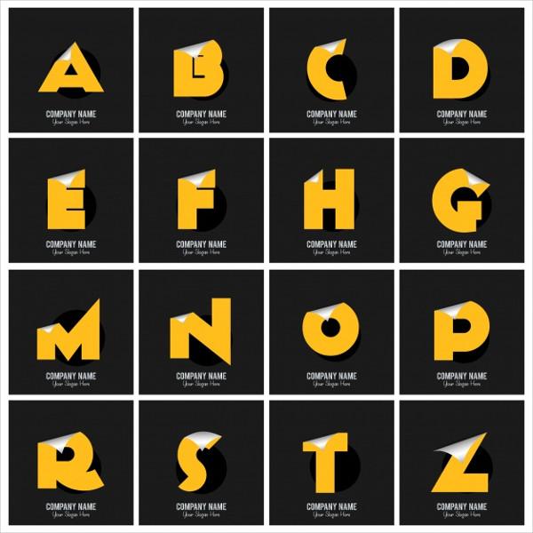 Elegant Alphabet Logos Template