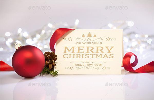 Elegant Christmas Greetings Mockups