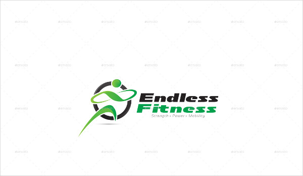 Endless Fitness Logo Template