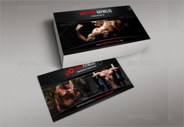 Editable Sports Business Card Template