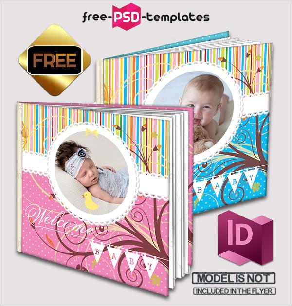 Free Baby Photo Album Template