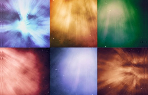 Stylish Cosmic Backgrounds