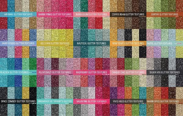 Hi Res Glitter Textures Bundle