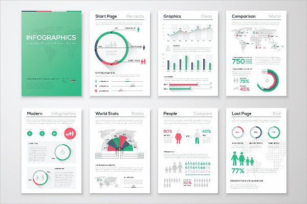 Popular Infographic Brochure Elements