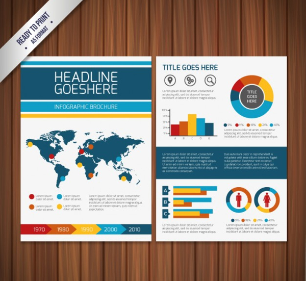 Infographic Brochure Template Free Download