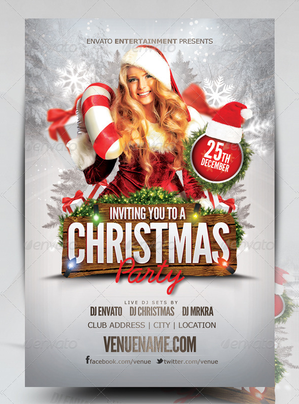 Youth Party Flyer PSD Design