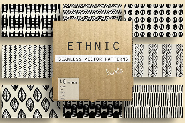 Printable Ethnic Patterns Bundle