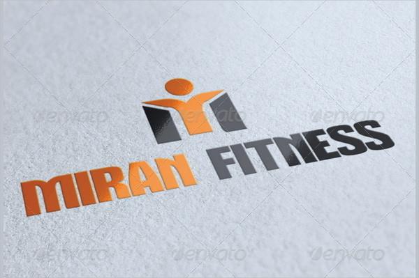 Miran Fitness Logo Template