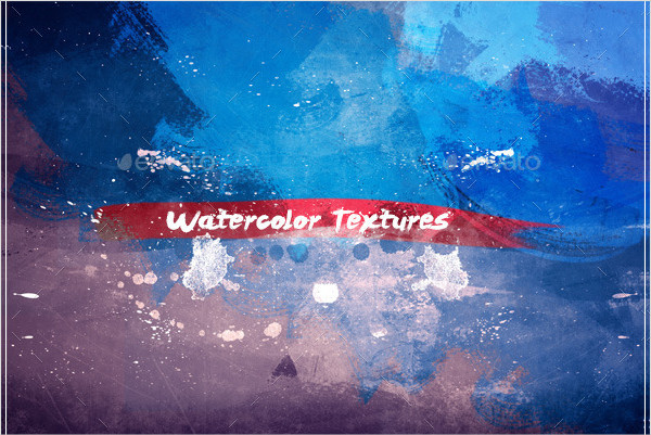 Natural Watercolor Texture Set