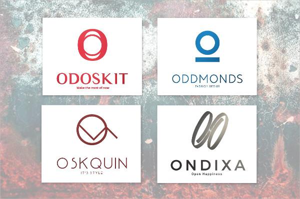 """O"" Letter Alphabetic Logos Bundle"
