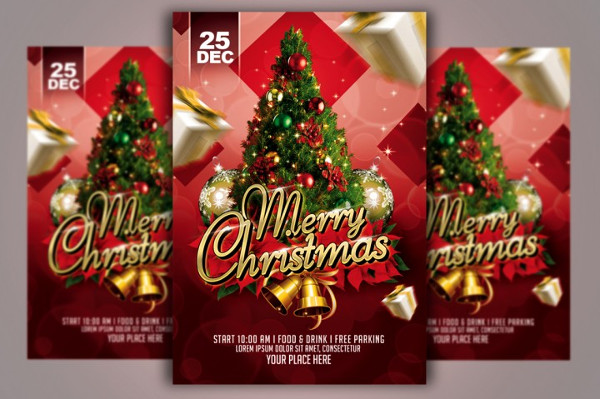 Online Christmas Flyer