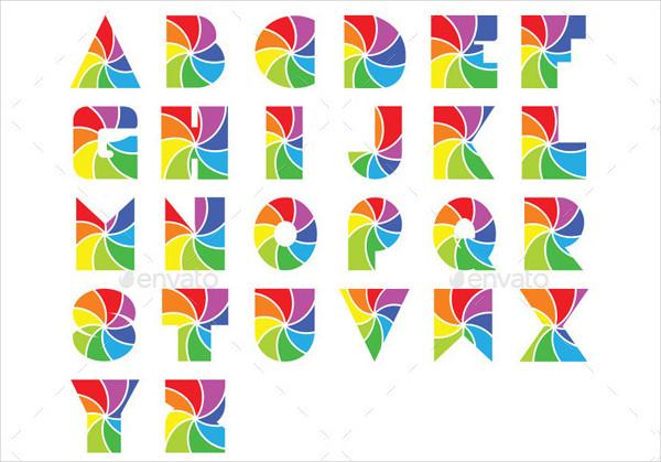 Photographic Alphabet Logo Templates