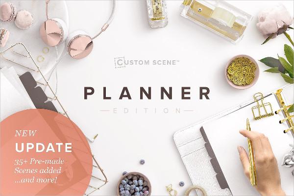Planner Edition Scene Generator Mockups