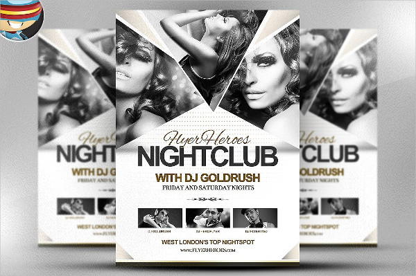 Professional Night Club Flyer Template