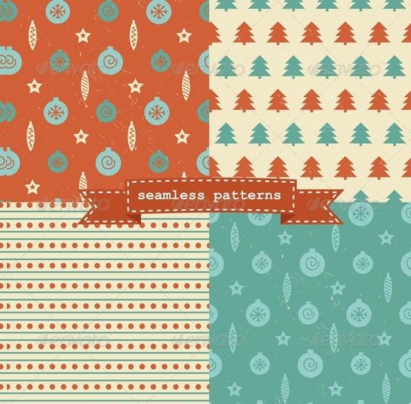 Retro Christmas Patterns