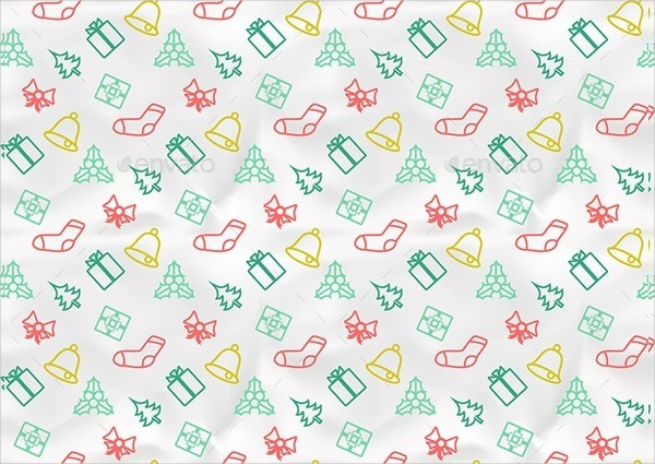 Christmas Seamless Pattern for Design