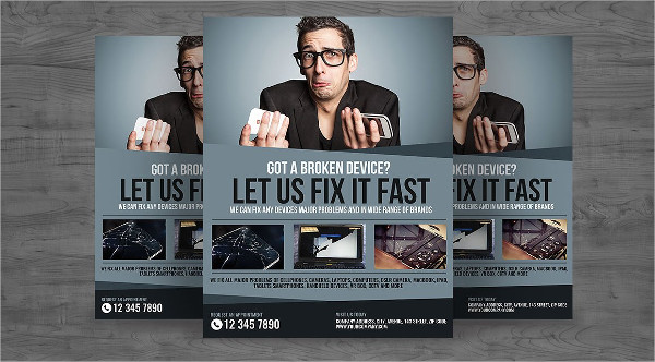 Device and Gadget Repair Flyer Template