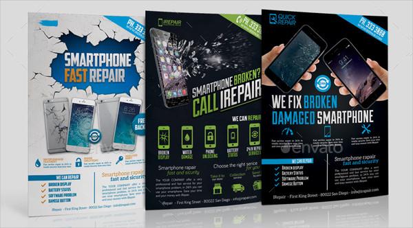 Big Smartphone Repair Flyers Bundle