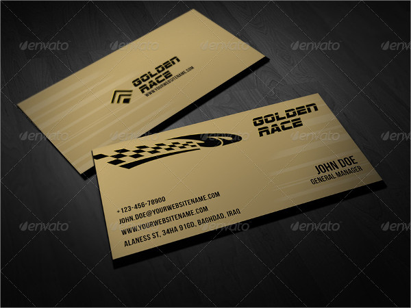 Sport Race Business Card Template