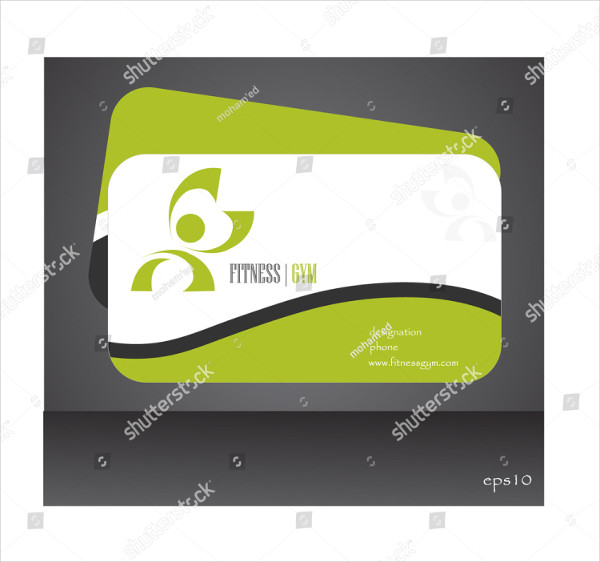 Sports Club Business Card Template