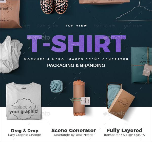 T-Shirt Scene Generator Mockups